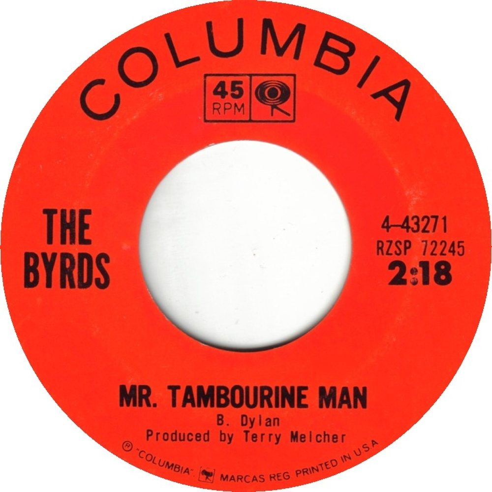 The Byrds / Mr. Tambourine Man