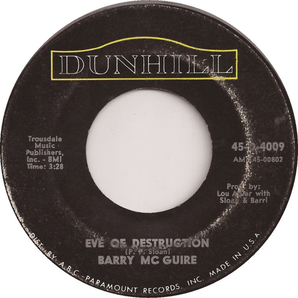 Barry McGuire / Eve Of Destruction