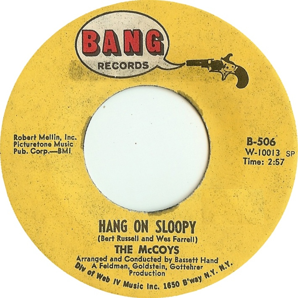 The McCoys /Hang On Sloopy