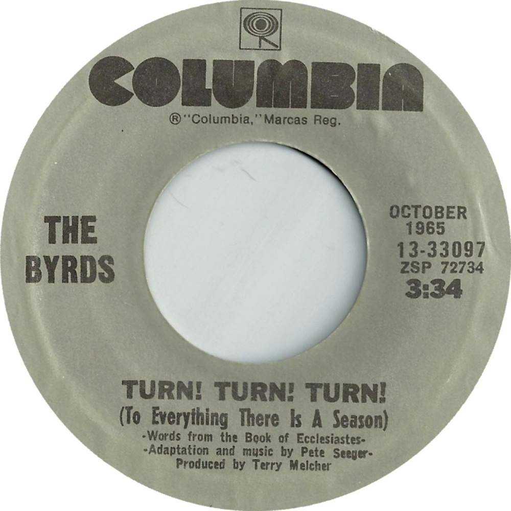 The Byrds / Turn! Turn! Turn! (To Everything There Is Season)