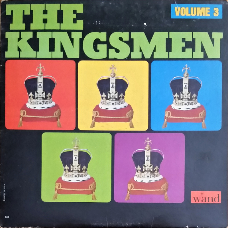 THE KINGSMEN, VOLUME 3 by The Kingsmen (1965)