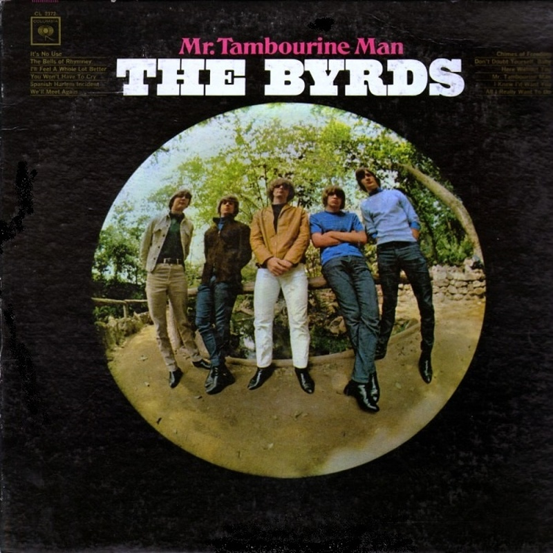 MR. TAMBOURINE MAN by The Byrds (1965)