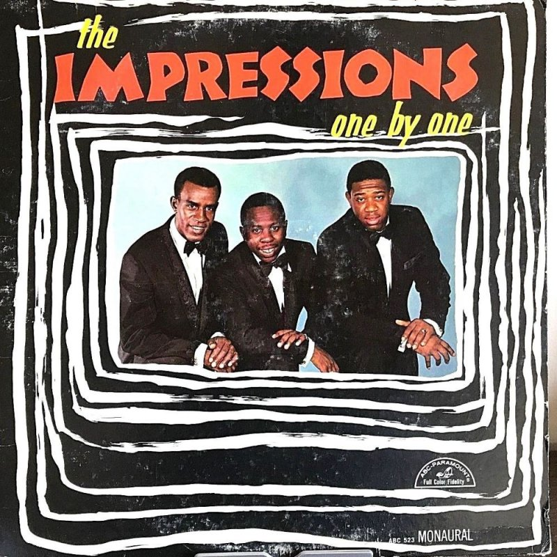 ONE BY ONE by The Impressions (1965)