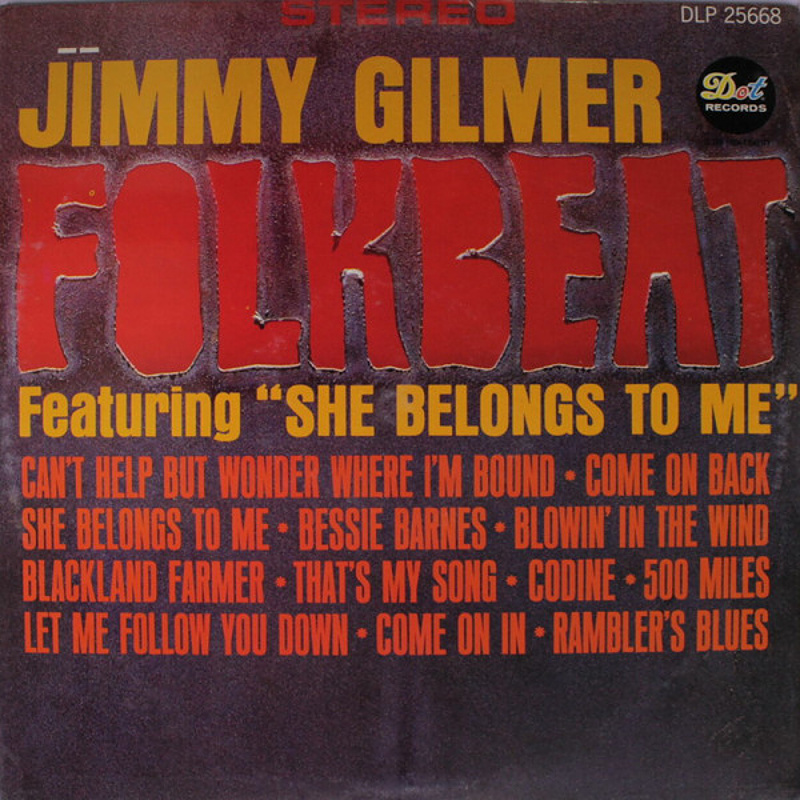 FOLKBEAT by Jimmy Gilmer (1965)