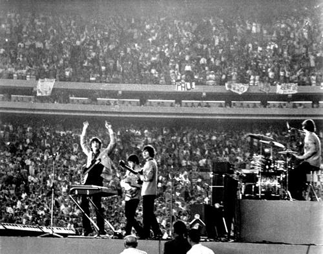 The Beatles at the Shue Stadium / 1965