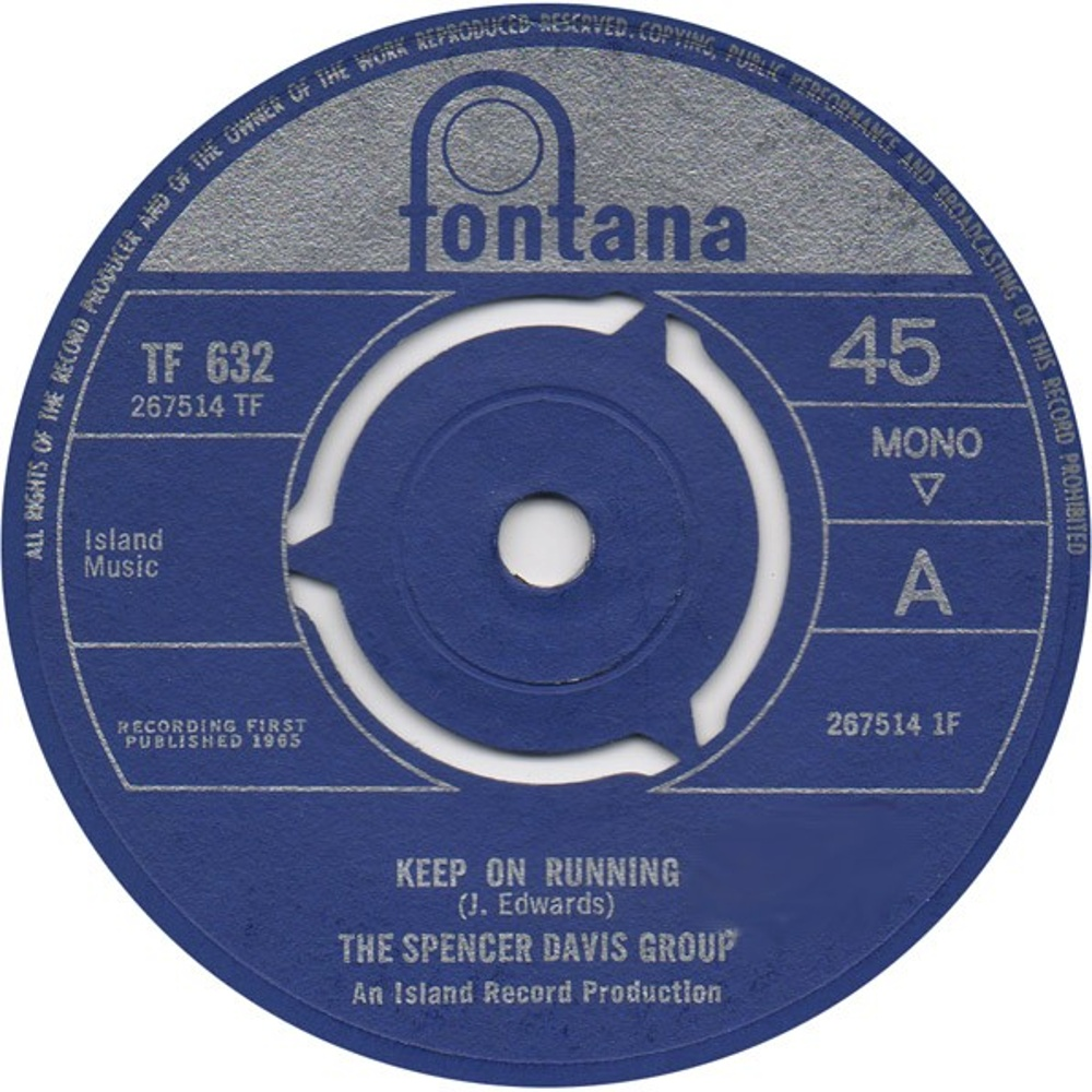 The Spencer Davis Group / Keep On Running