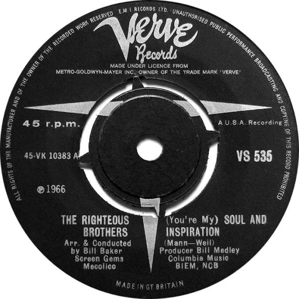 The Righteous Brothers / (You're My) Soul And Inspiration