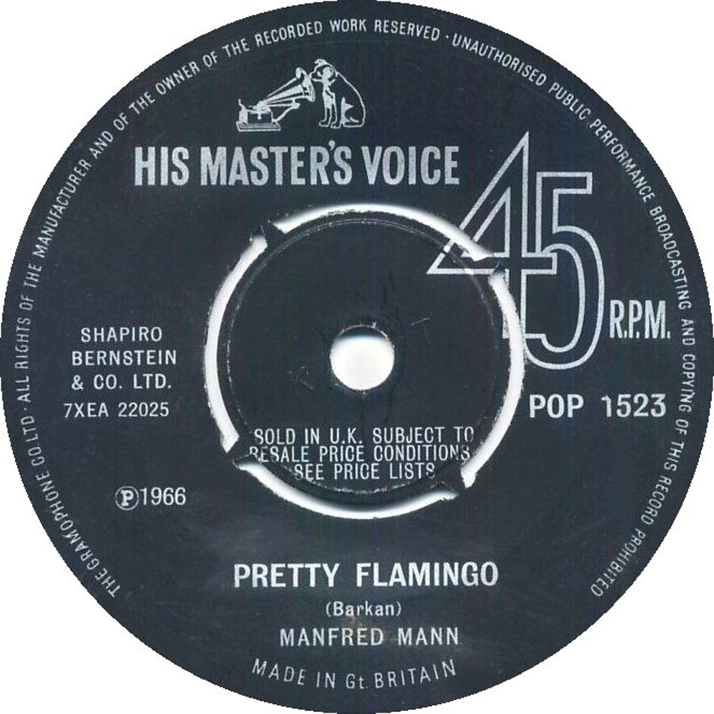 Manfred Mann / Pretty Flamingo
