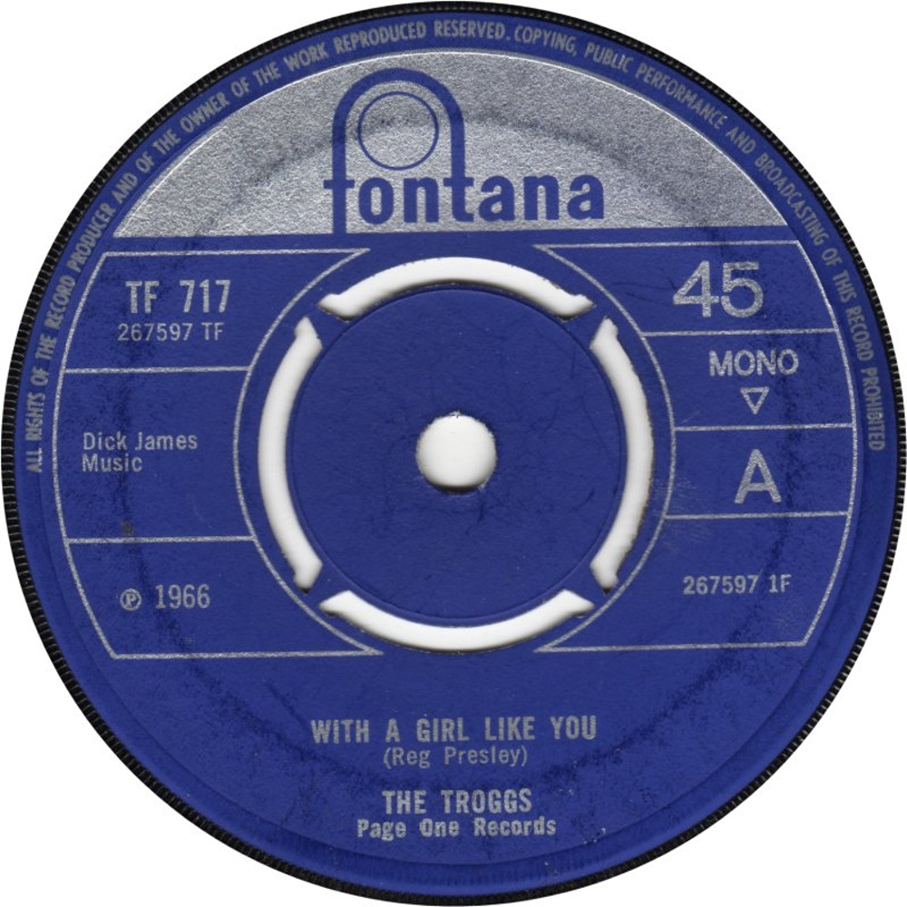 The Troggs / With A Girl Like You