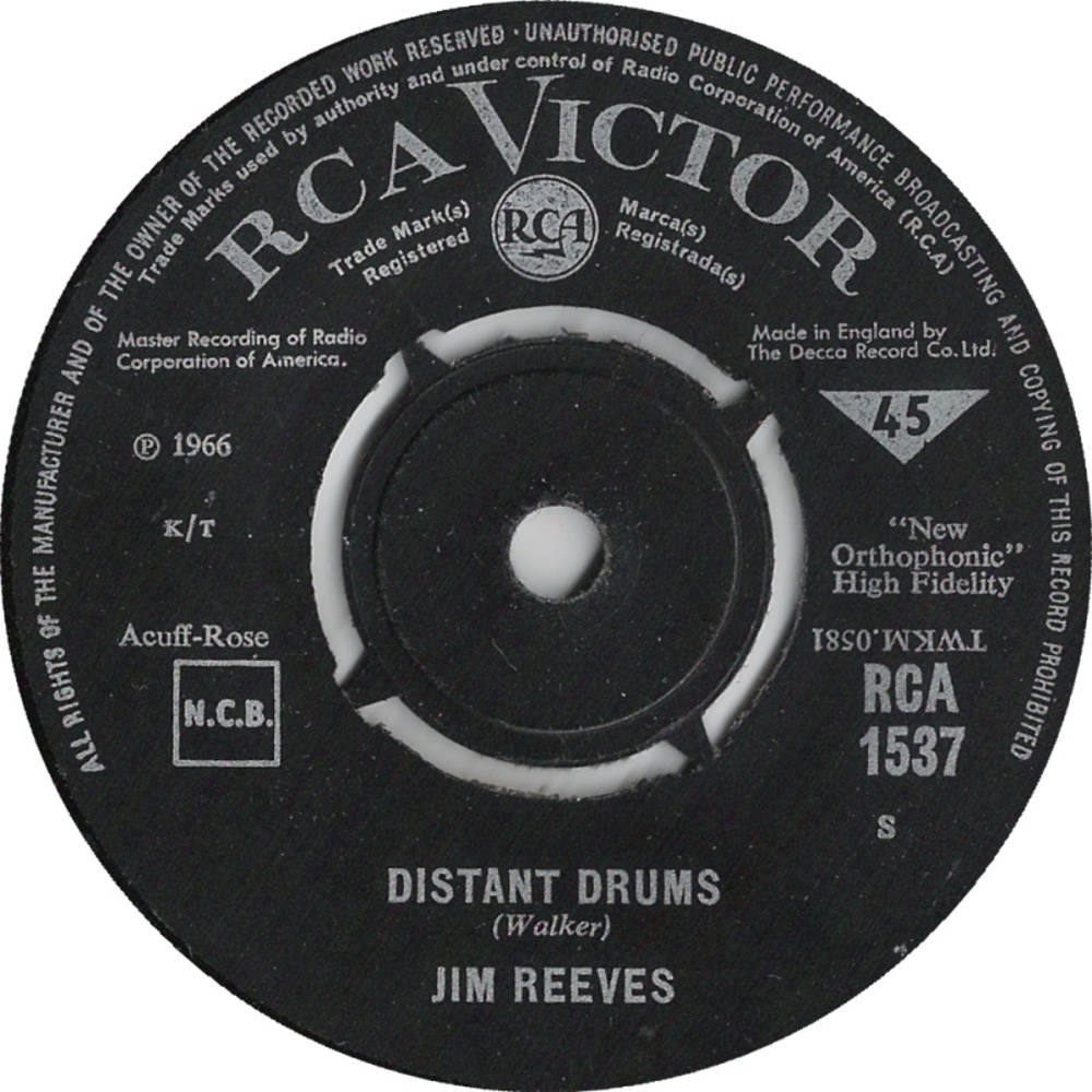 Jim Reeves / Distant Drums