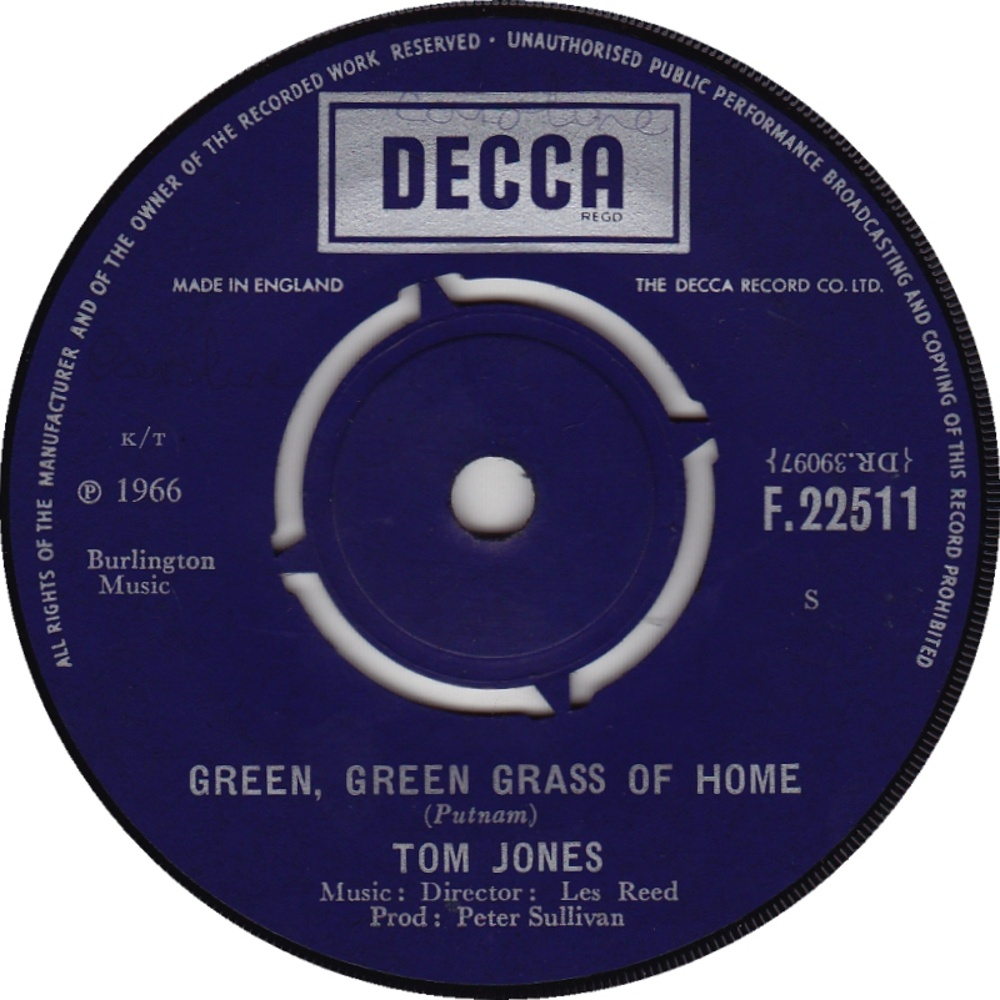 Tom Jones / Green, Green Grass Of Home