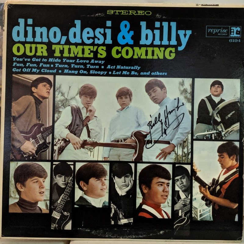 OUR TIME'S COMING by Dino, Desi And Billy (1966)