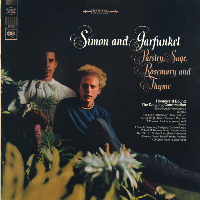 PARSLEY, SAGE, ROSEMARY AND THYME by Simon And Garfunkel (1966)