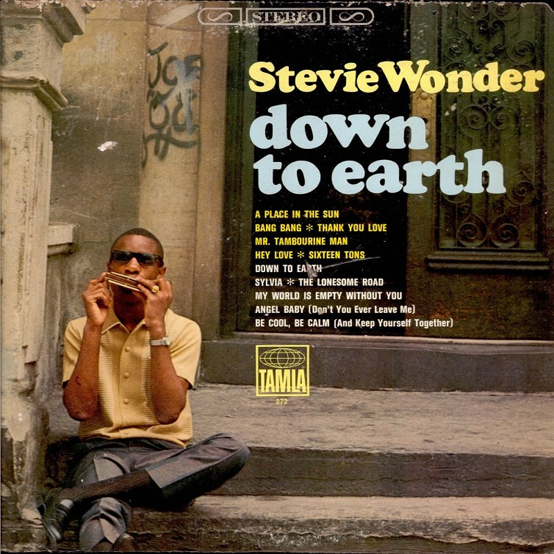 DOWN TO EARTH by Stevie Wonder (1966)