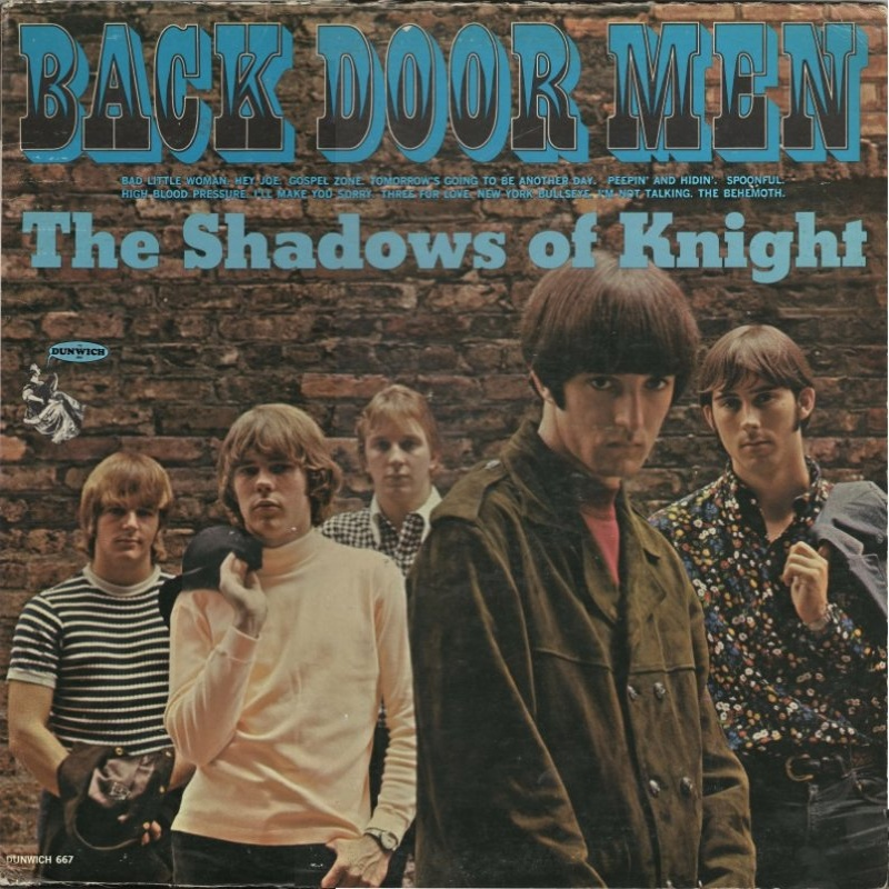 BACK DOOR MEN by The Shadows Of Knight (1966)
