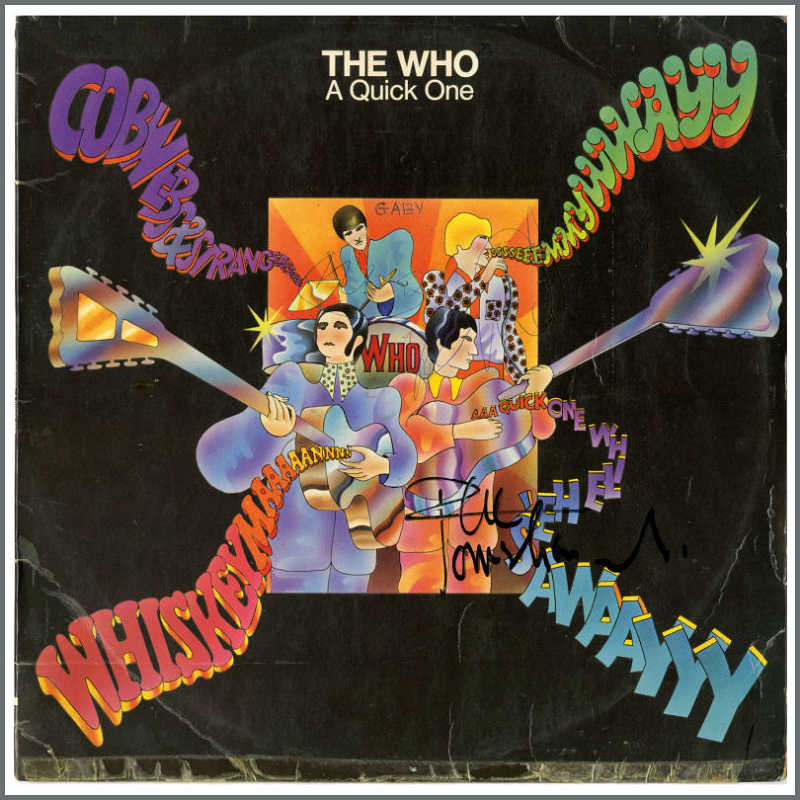 A QUICK ONE by The Who (1966)