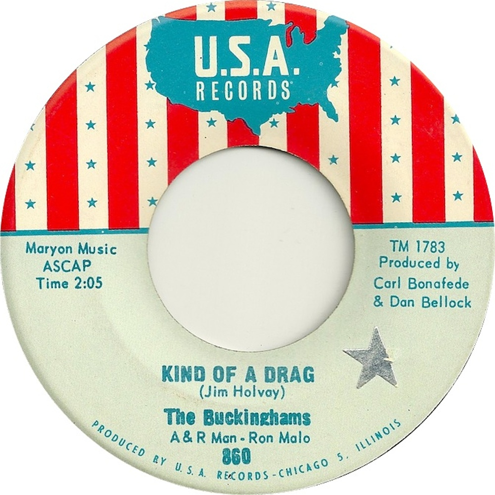 The Buckinghams / Kind Of A Drag