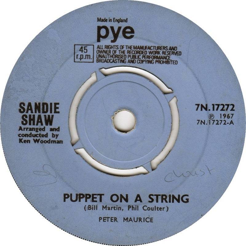 Sandie Shaw / Puppet On A String
