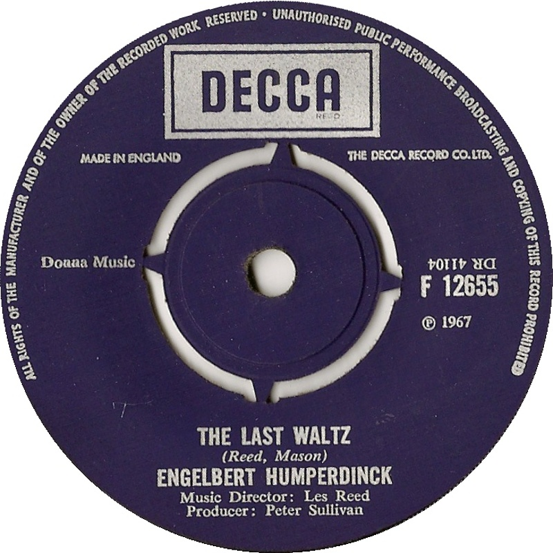 Engelbert Humperdinck / The Last Waltz