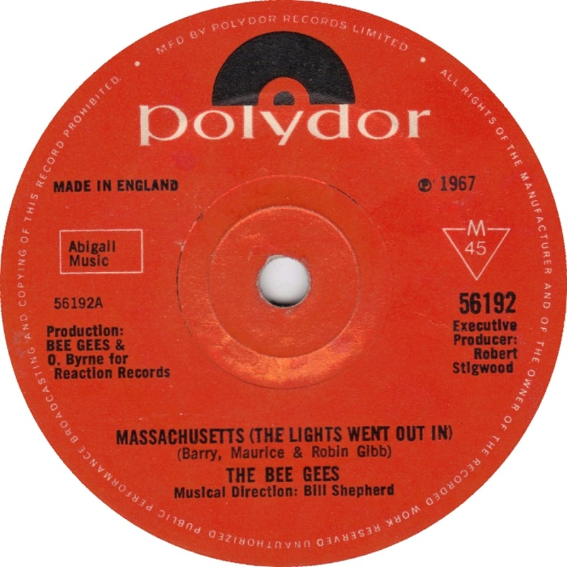 The Bee Gees / Massachusetts