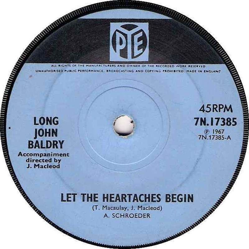 Long John Baldry / Let The Heartaches Begin
