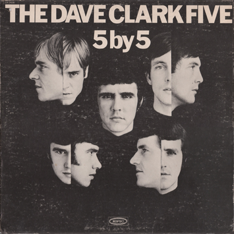 5 BY 5 by The Dave Clark Five (1967) Epic (USA)