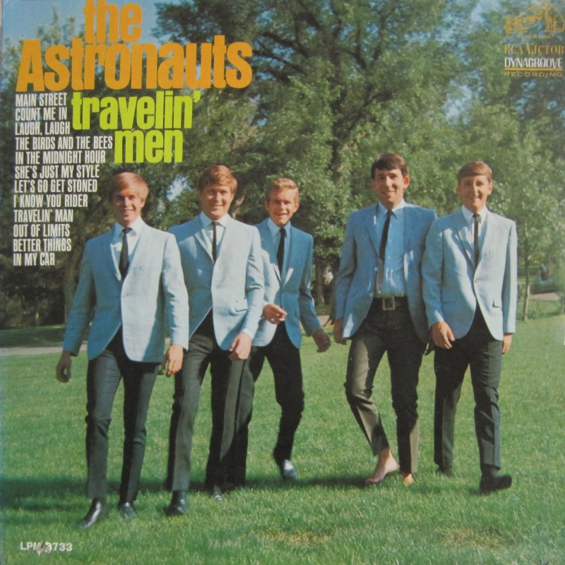 TRAVELIN' MEN by The Astronauts (1967)