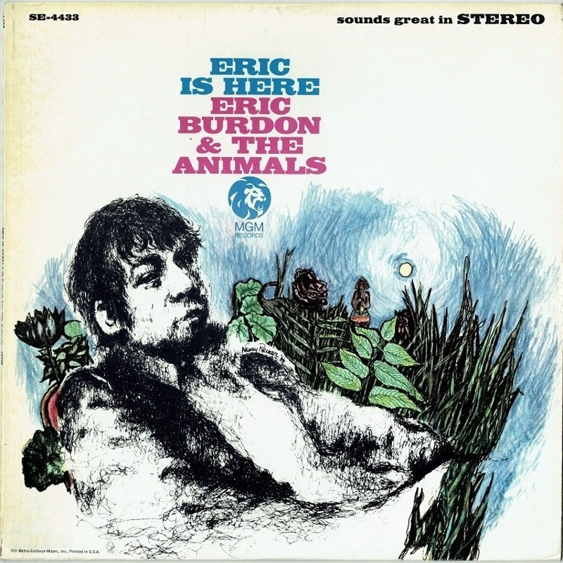 ERIC IS HERE by Eric Burdon And The Animals (1967)
