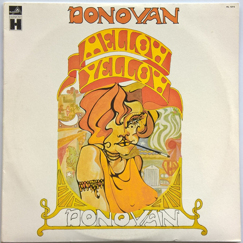 MELLOW YELLOW by Donovan (1967) Epic (USA)