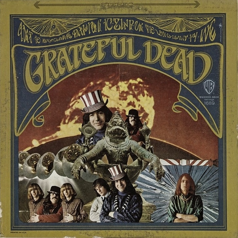 THE GRATEFUL DEAD by The Grateful Dead (1967)
