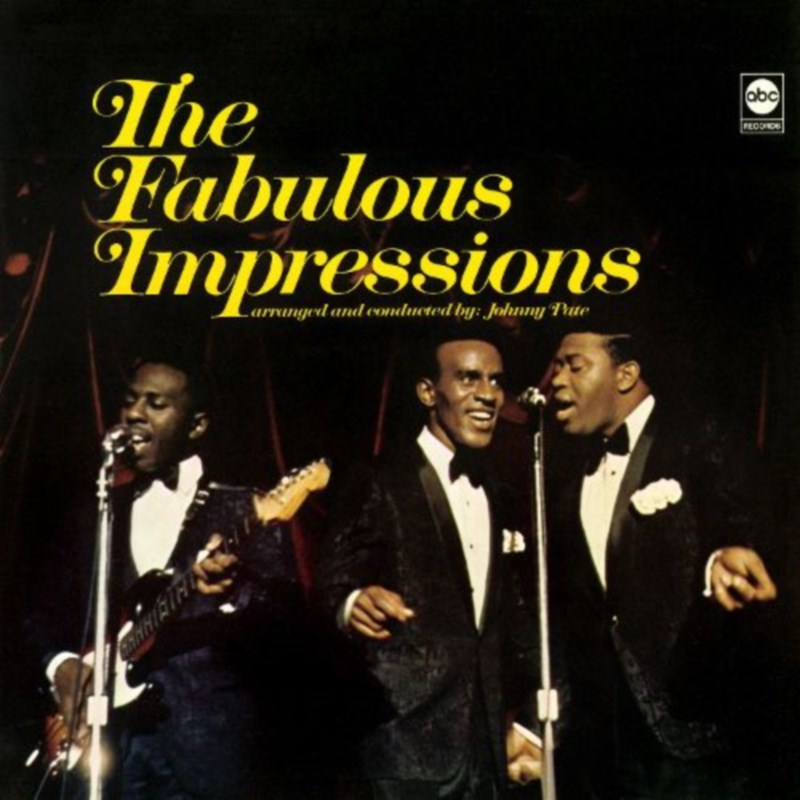 THE FABULOUS IMPRESSIONS by The Impressions (1967)