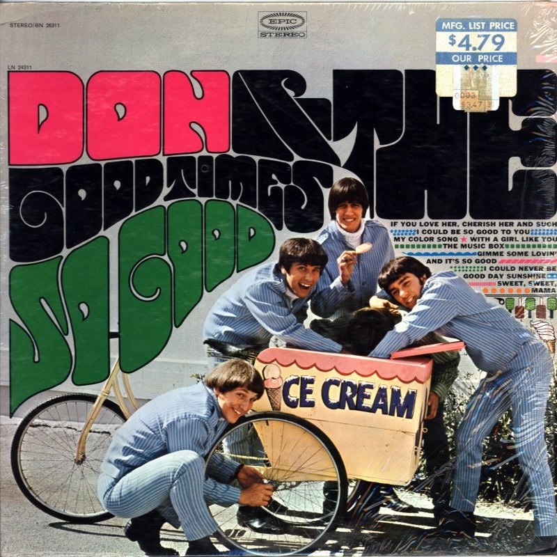SO GOOD by Don And The Goodtimes (1967)