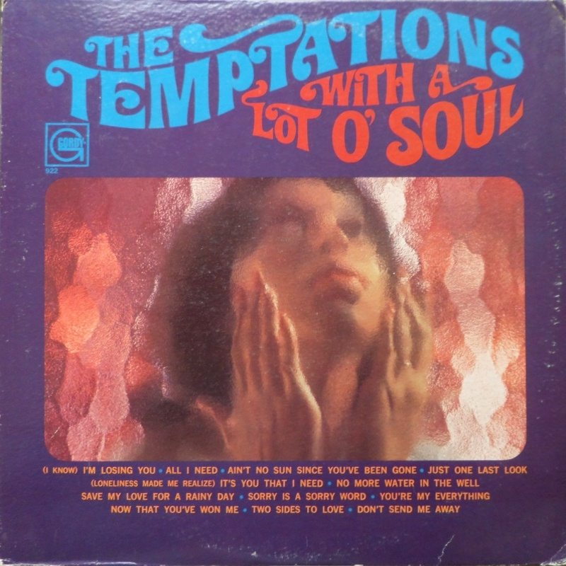 WITH A LOT O' SOUL of The Temptations (1967)
