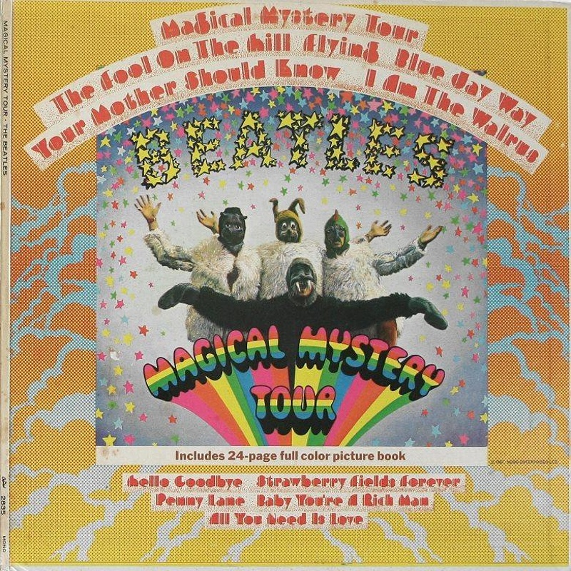 MAGICAL MYSTERY TOUR by The Beatles (1967)