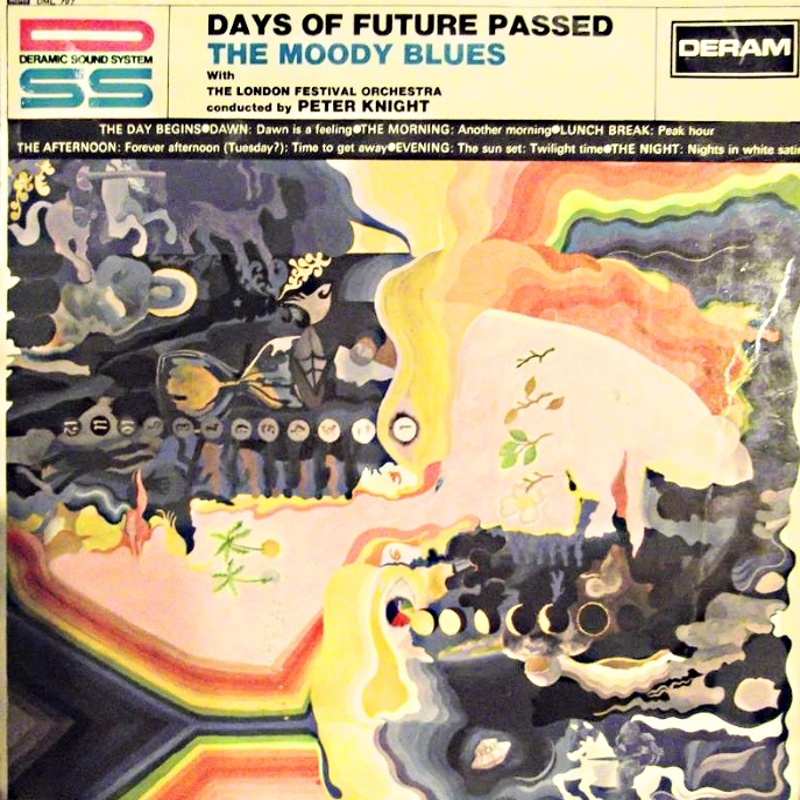 DAYS OF FUTURE PASSED by The Moody Blues (1967) Deram