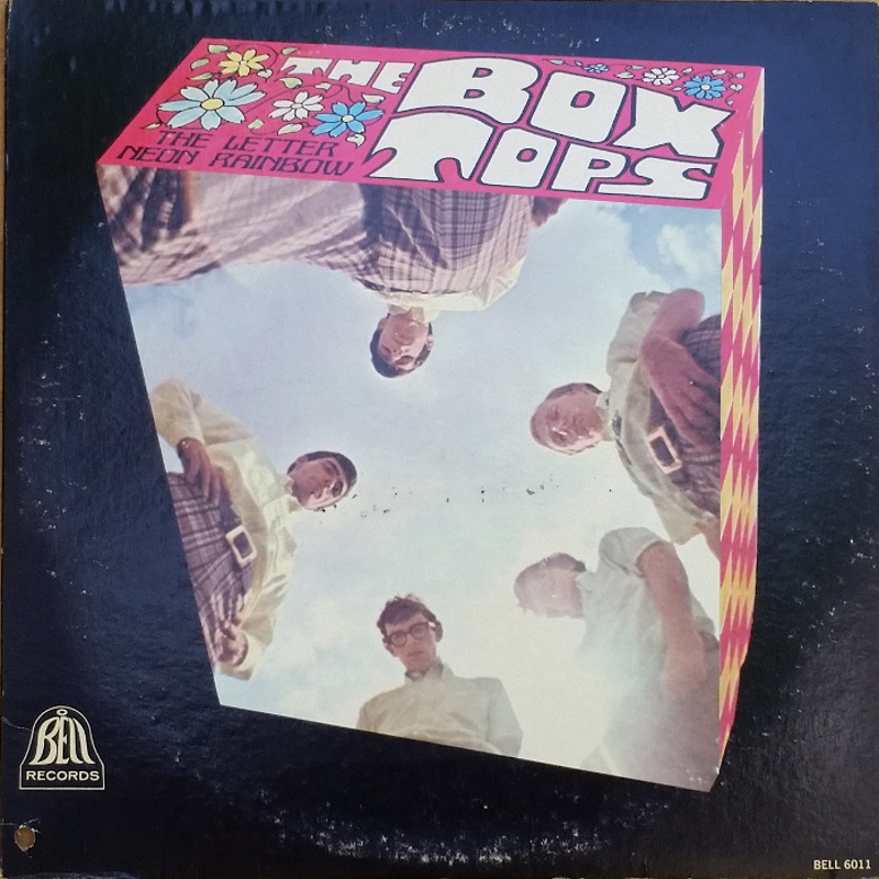 THE LETTER / NEON RAINBOW by The Box Tops (1967)