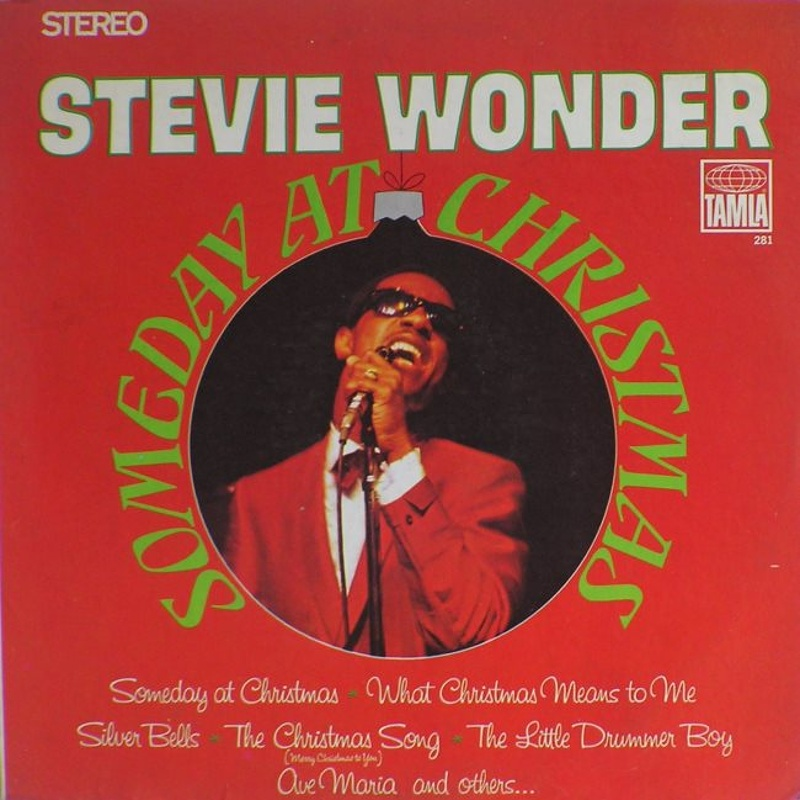 SOMEDAY AT CHRISTMAS / Stevie Wonder (1967)