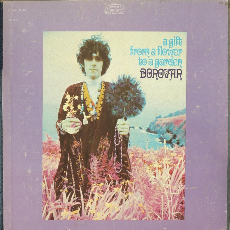 A GIFT FROM A FLOWER TO A GARDEN by Donovan (1967) Epic (USA)