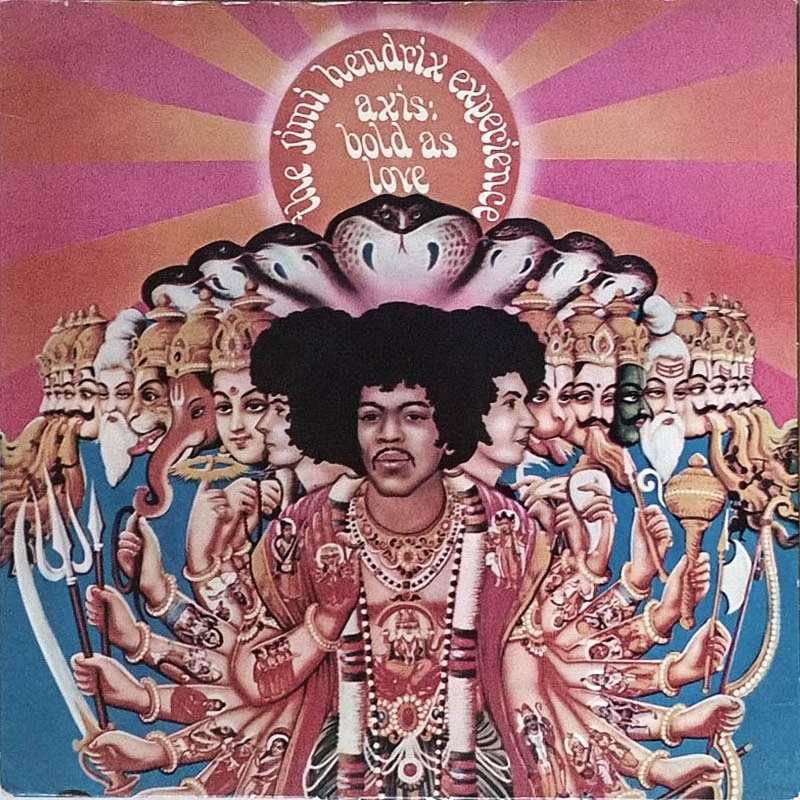 AXIS: BOLD AS LOVE by The Jimi Hendrix Experience (1967) Track (UK)
