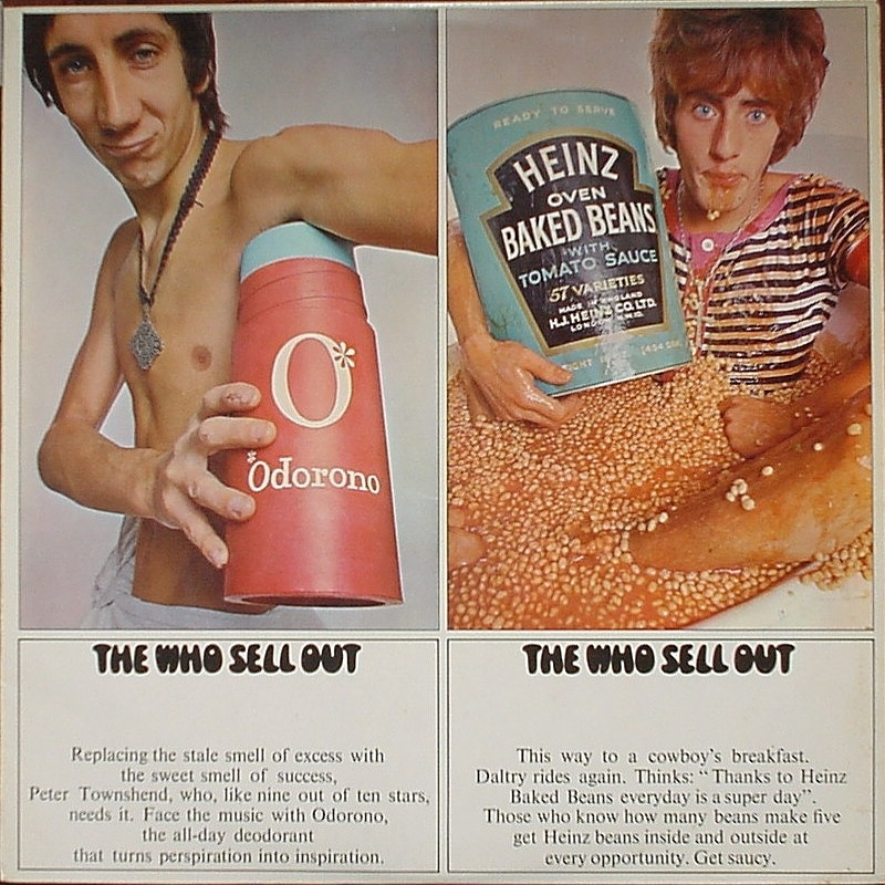 THE WHO SELL OUT by The Who (1967)