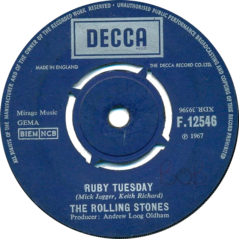 The Rolling Stones - Let's Spend The Night Together / Ruby Tuesday (1967)
