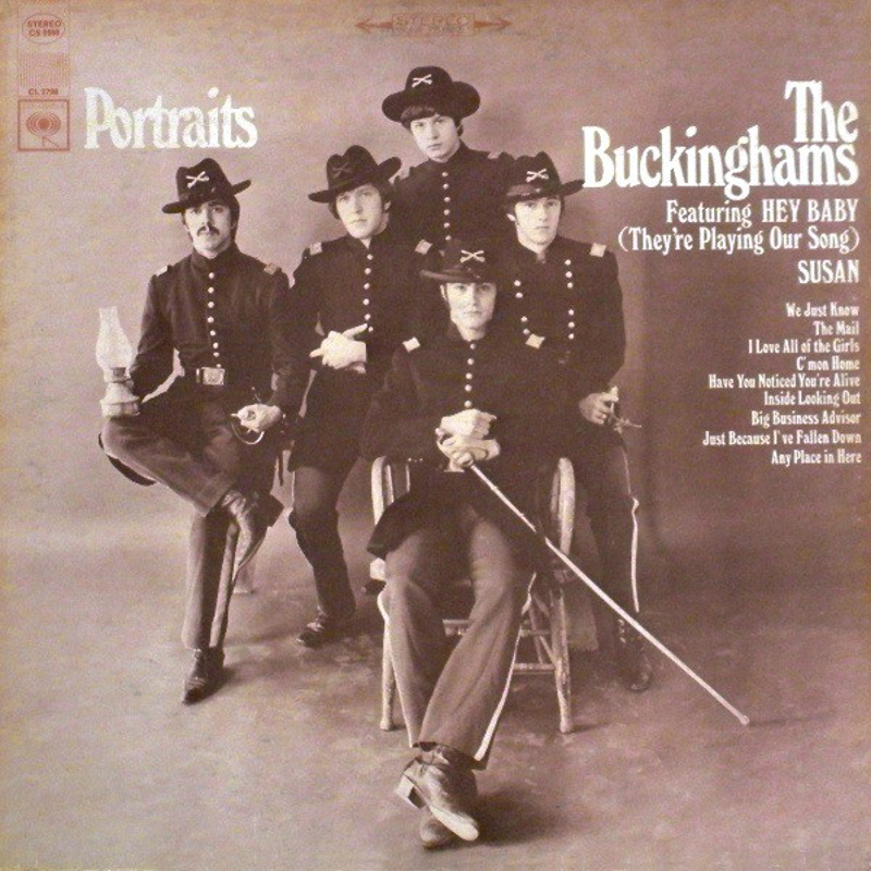 PORTRAITS by The Buckinghams (1968) Columbia