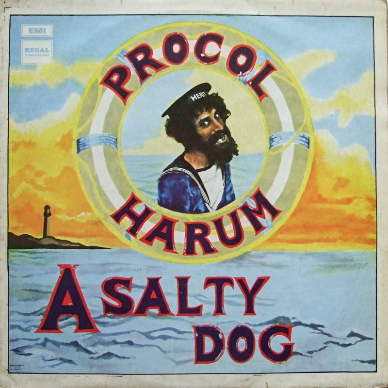 A SALTY DOG by Procol Harum (1969) Regal Zonophone