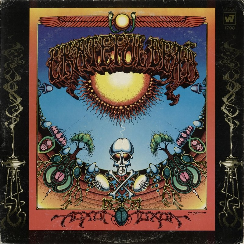 AOXOMOXOA by The Grateful Dead (1969)  Warner Bros.