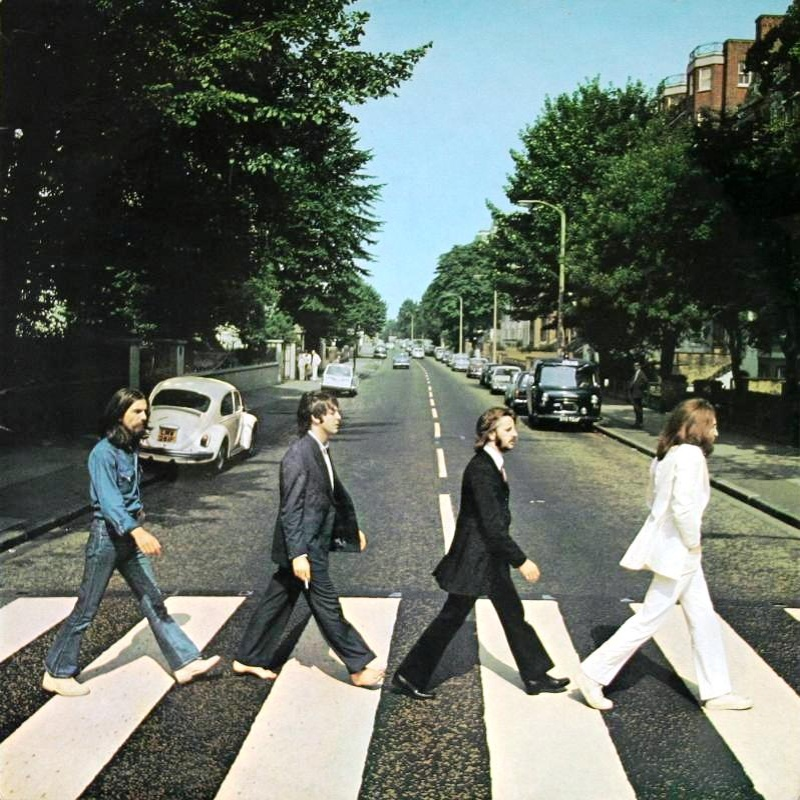 ABBEY ROAD by The Beatles (1969)