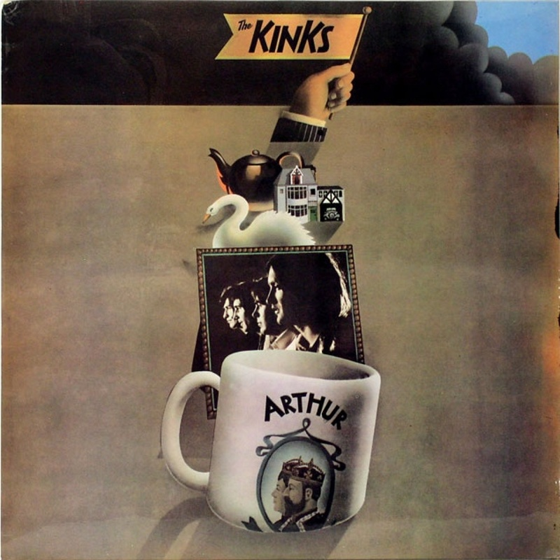 ARTHUR OR THE DECLINE AND FALL OF THE BRITISH EMPIRE by The Kinks (1968) Pye