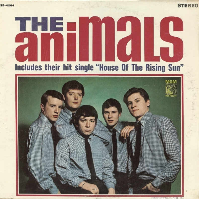 THE ANIMALS by The Animals (1964) MGM (USA)