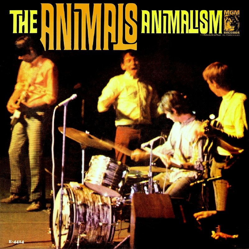 ANIMALISM by The Animals (1966) MGM (USA)