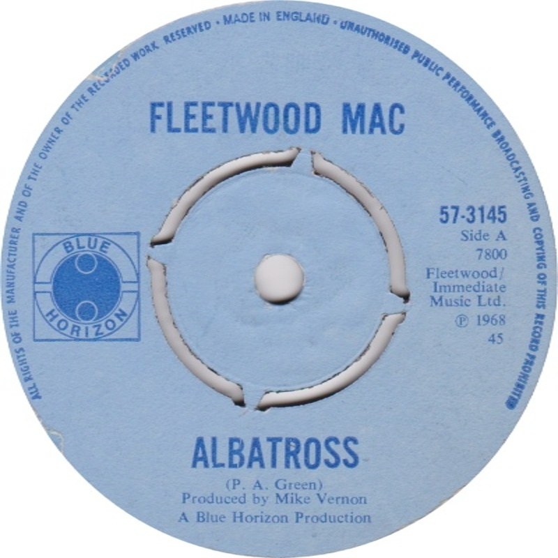 Fleetwood Mac - Albatross / Jigsaw Puzzle Blues (Blue Horizon) 1968