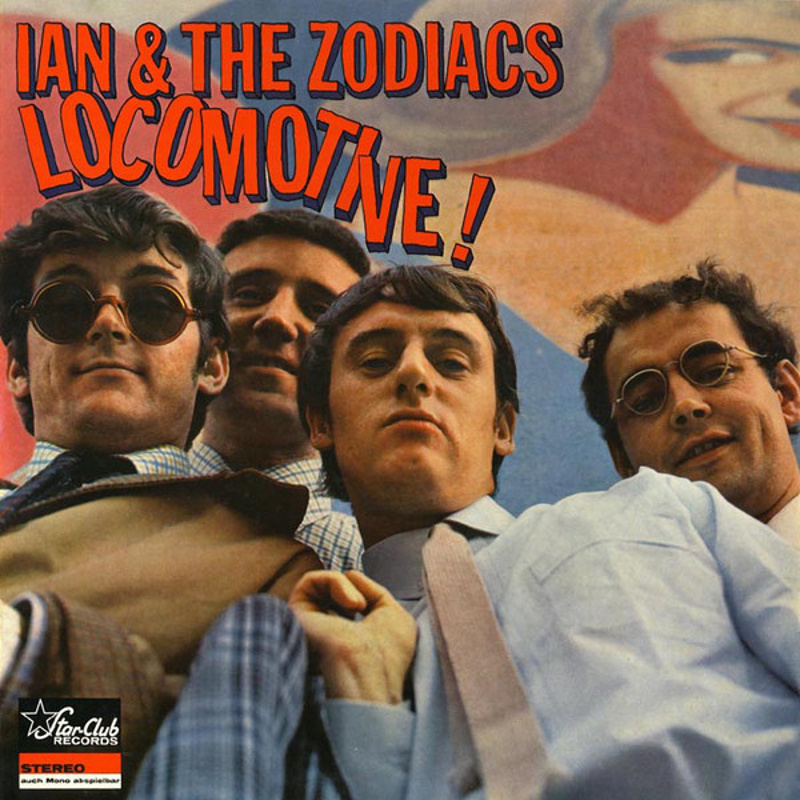 LOCOMOTIVE! by Ian And The Zodiacs (Star-Club Records) 1966